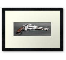 Cap and Ball revolver Framed Print