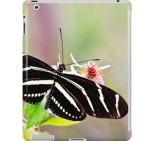 Zebra Longwing Butterfly iPad Case/Skin