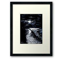 Cool Seas Framed Print
