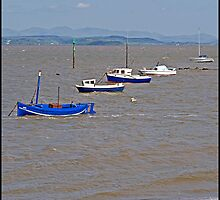 Morecambe at high tide by almaalice