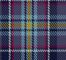 00468 Blue Toon District Tartan  Sticker