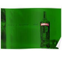 Vodka  by:glenn goulding copyright Poster