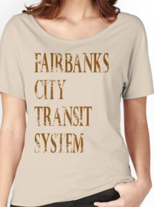 Fairbanks Transit 3 Women's Relaxed Fit T-Shirt
