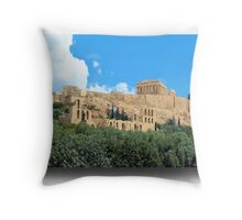 Athens..the City of the Gods Throw Pillow