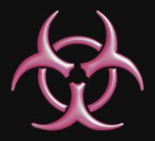 Biohazard Logo (Pink) by Colin Wilson