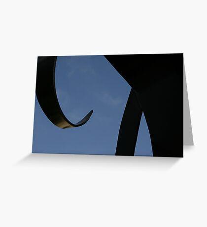 Sculpture Sky Greeting Card