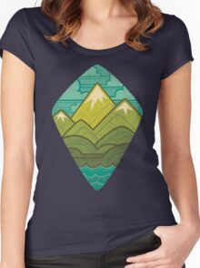 Sea to Sky Women's Fitted Scoop T-Shirt