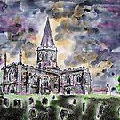 All Saints church Bakewell by Ivor