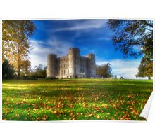 Lullworth Castle Poster