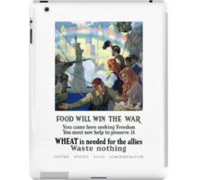 Food Will Win The War iPad Case/Skin