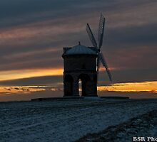 Chesterton Windmill with a nice sunset by BSRPhotography