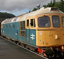 Class 50 diesel locomotive by Keith Larby