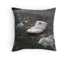 Tragic Loss Throw Pillow