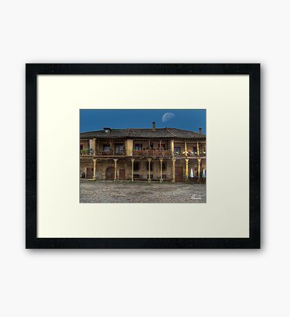 Pedraza (Plaza) Framed Print