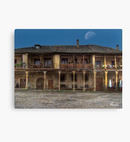 Pedraza (Plaza) Canvas Print