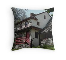 Lafayette's Headquarters Throw Pillow