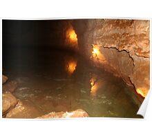 Fresh Water, Koonalda Cave, Nullarbor. Poster