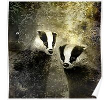 A Badgers Lot Poster