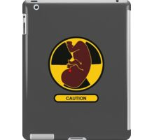 Caution: Nuclear Family Started iPad Case/Skin