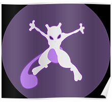 pokemon mewtwo anime manga shirt Poster