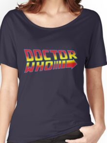 Back to Doctor Who Mash Up  Women's Relaxed Fit T-Shirt