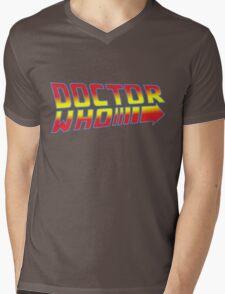 Back to Doctor Who Mash Up  Mens V-Neck T-Shirt