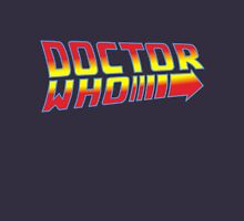 Back to Doctor Who Mash Up  Unisex T-Shirt