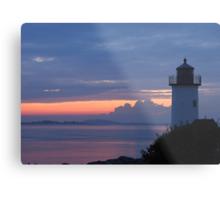 Annisquam Lighthouse Sunset - Gloucester, Massachusetts Metal Print