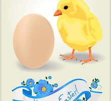 Easter card by Richard Laschon