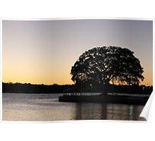 Mandurah Sunset, Western Australia. Poster