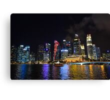 Singapore Sojourn Canvas Print