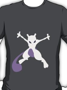pokemon mewtwo anime manga shirt T-Shirt