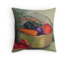 Veggies Throw Pillow