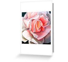 """""""Single Rose""""  Greeting Card"""