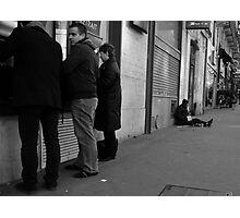 money diference Photographic Print