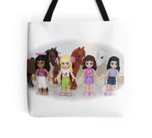 Lego Friends and Horses Tote Bag