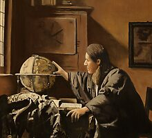 vermeer's Astronomer. by carss66