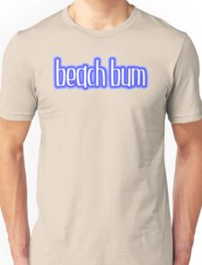 Beach Bum Blue Unisex T-Shirt