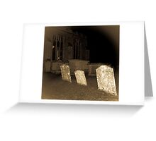 Redgrave Churchyard Greeting Card