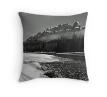 Castle on the Bow Throw Pillow