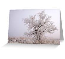 Frozen Ground Greeting Card