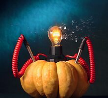Pumpkin Lamp by billyboy