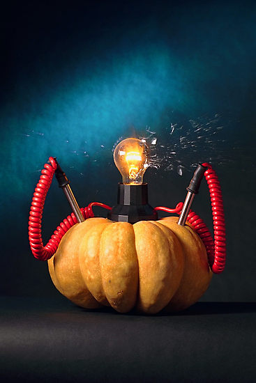 Pumpkin Lamp by billyboy