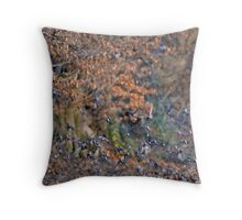 Brambling Flock, Autumn Throw Pillow