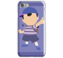 Ness (Blue) - Super Smash Bros. iPhone Case/Skin