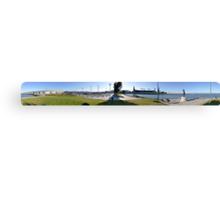 Panorama of San Francisco Giants Canvas Print