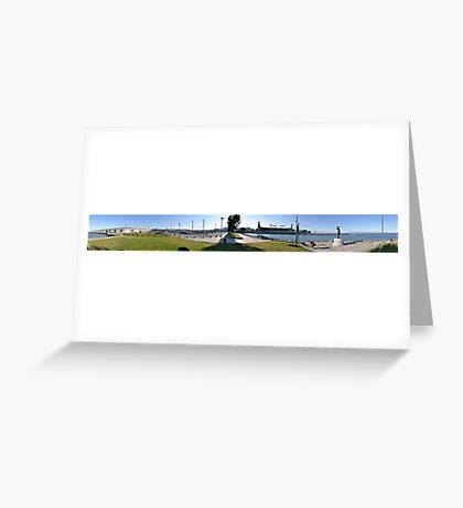 Panorama of San Francisco Giants Greeting Card