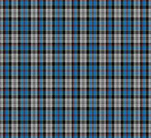 00477 Culloden Blue Stirling District Tartan  by Detnecs2013