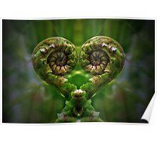 Koru Love Poster