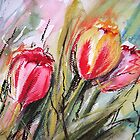 Tulips  by Rebecca Yoxall